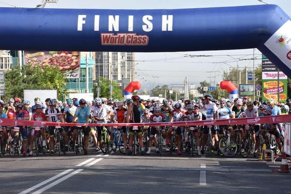 Велогонка Tour of World Class Almaty-2018 прошла в пятый раз