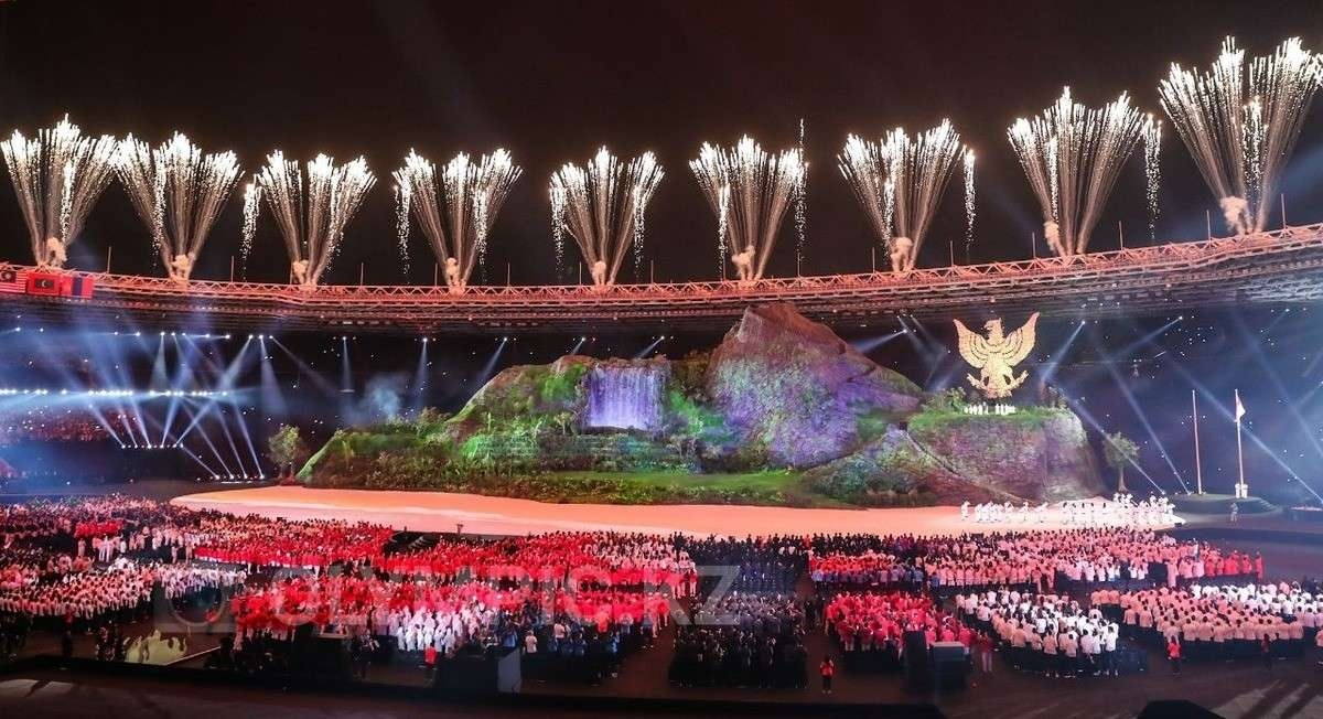 Церемония открытия Азиадских игр