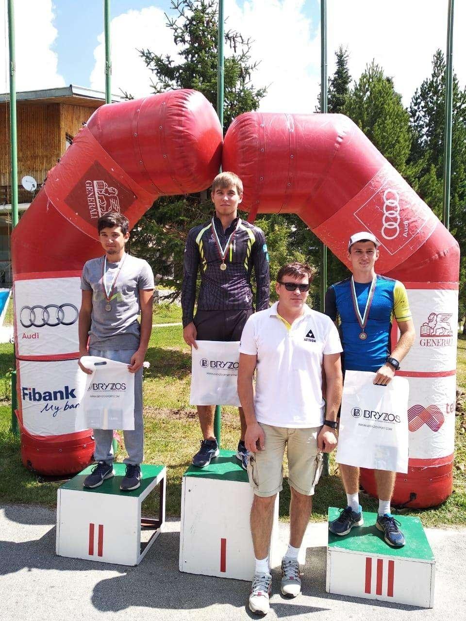 Акмолинцы стали чемпионами лыжероллерной гонки в Болгарии