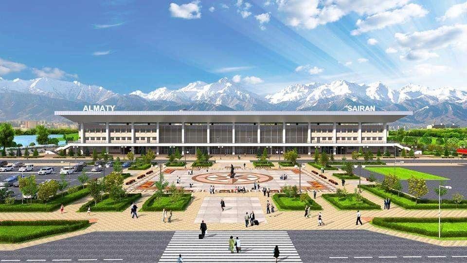"""Так будет выглядеть автовокзал """"Сайран"""" после реконструкции"""