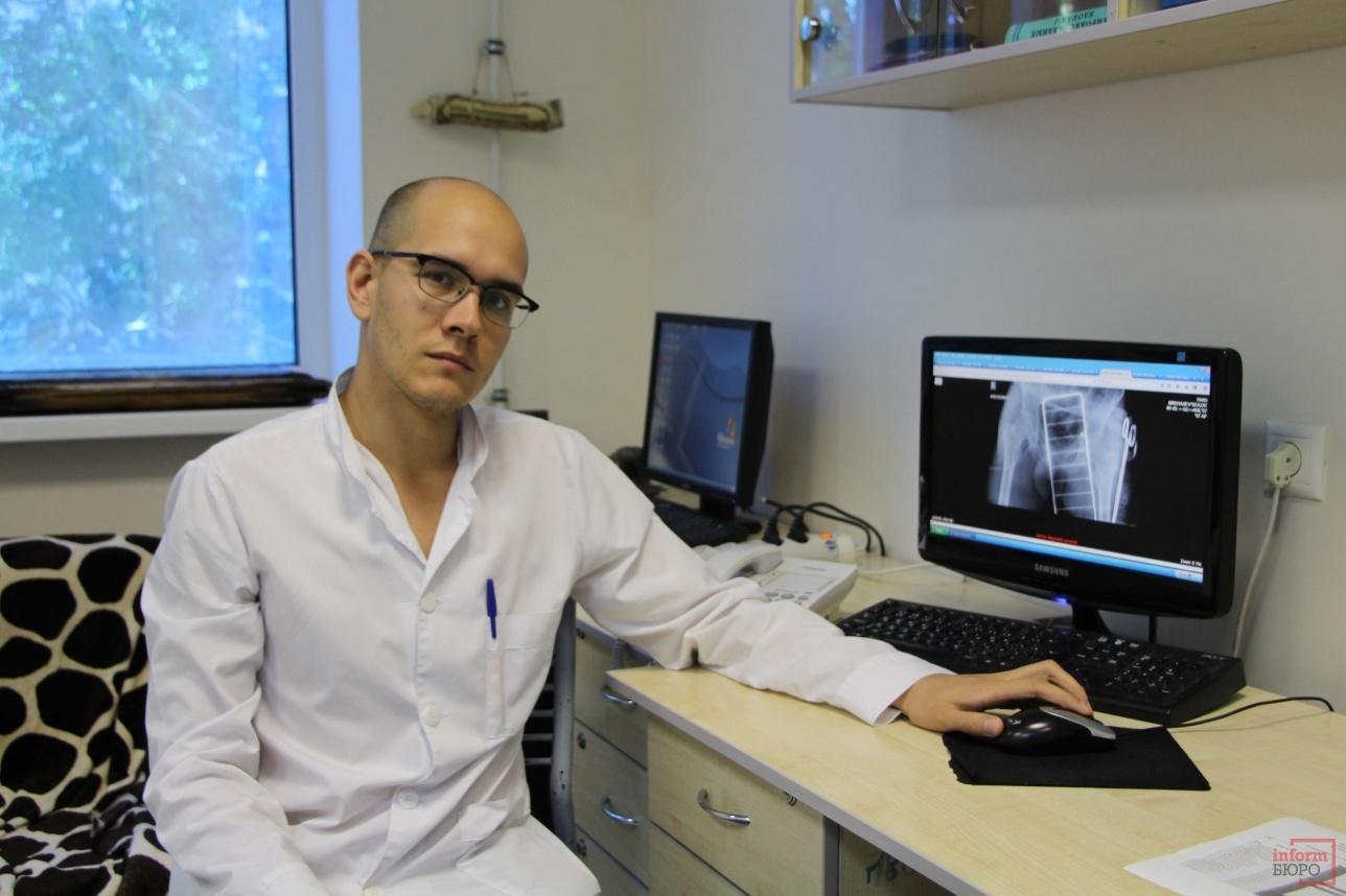 Дежурный врач-анестезиолог Павел Останин
