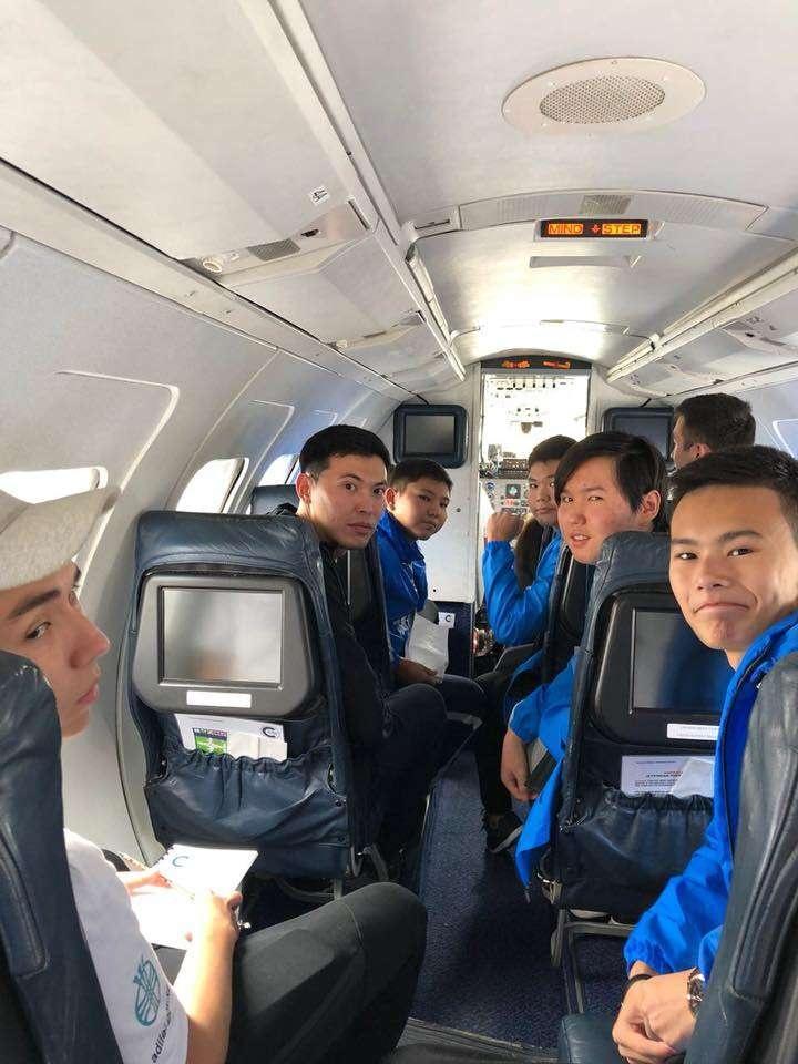 Во время стажировки ребята получили знания по принципам полёта и приборостроения для авиации