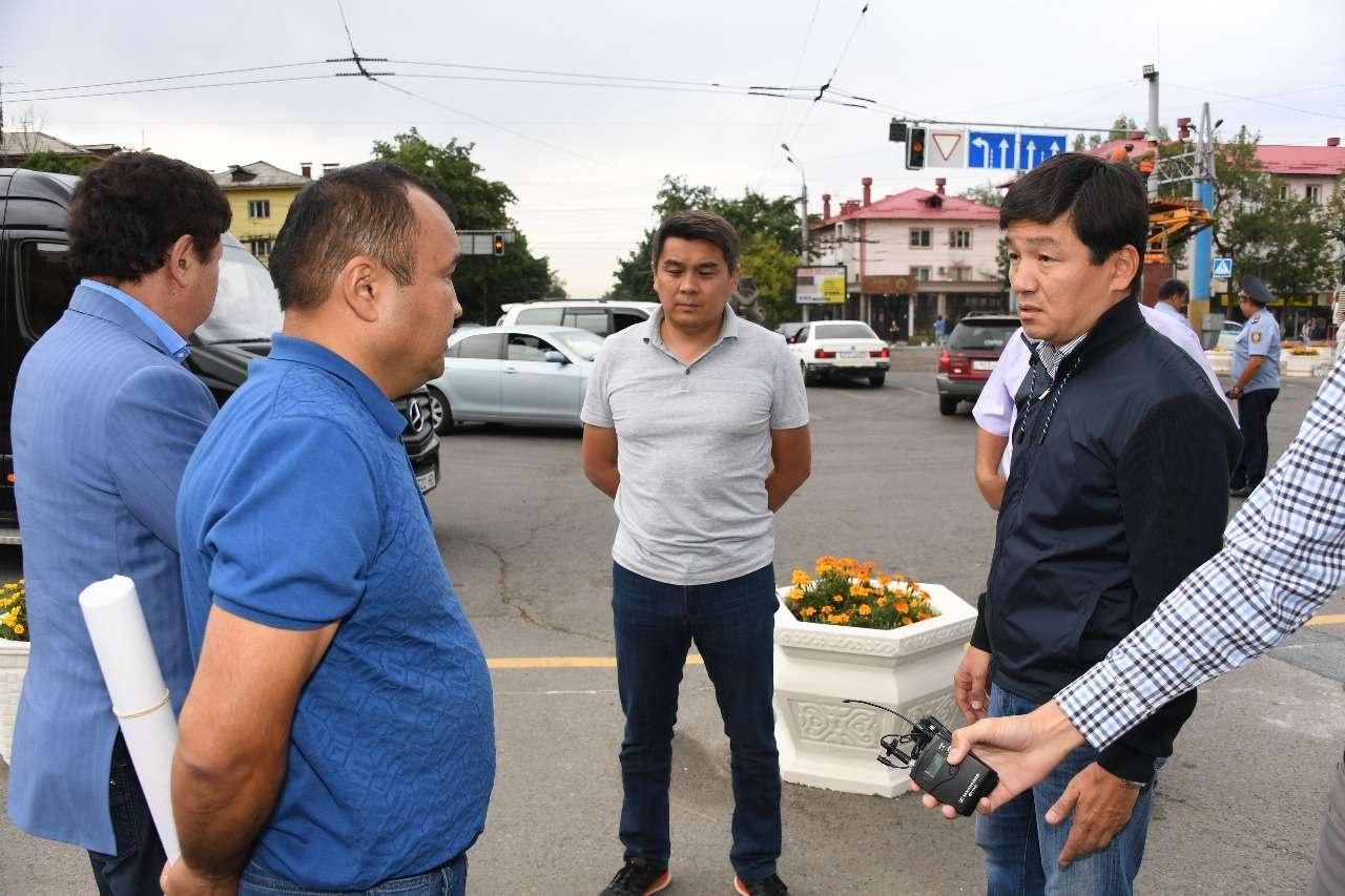 Аким Алматы подверг критике работу по строительство линии BRT по Тимирязева