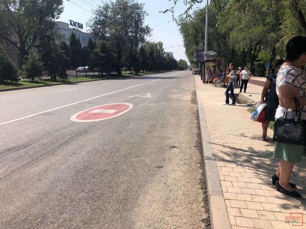 Остановочных карманов теперь в Алматы не будет