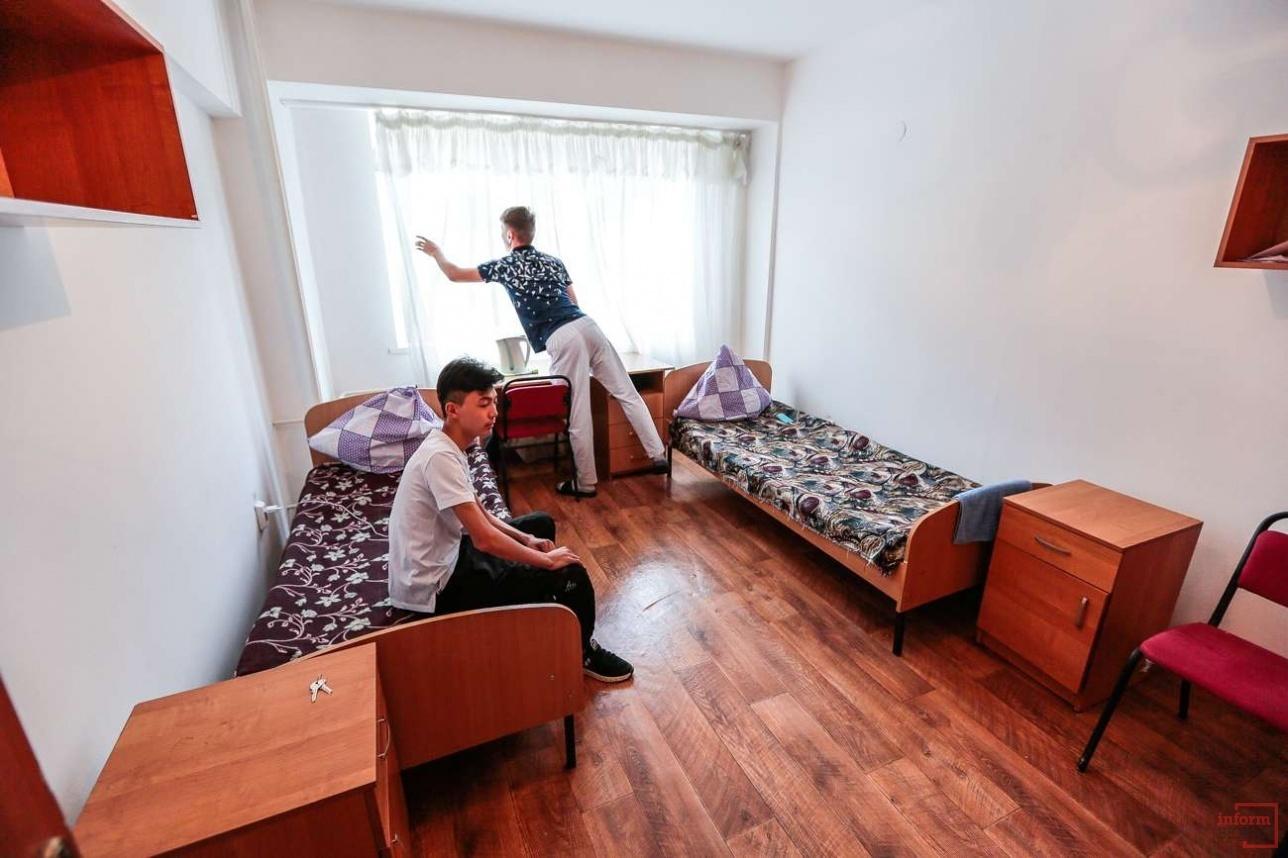 Комната в общежитии №15