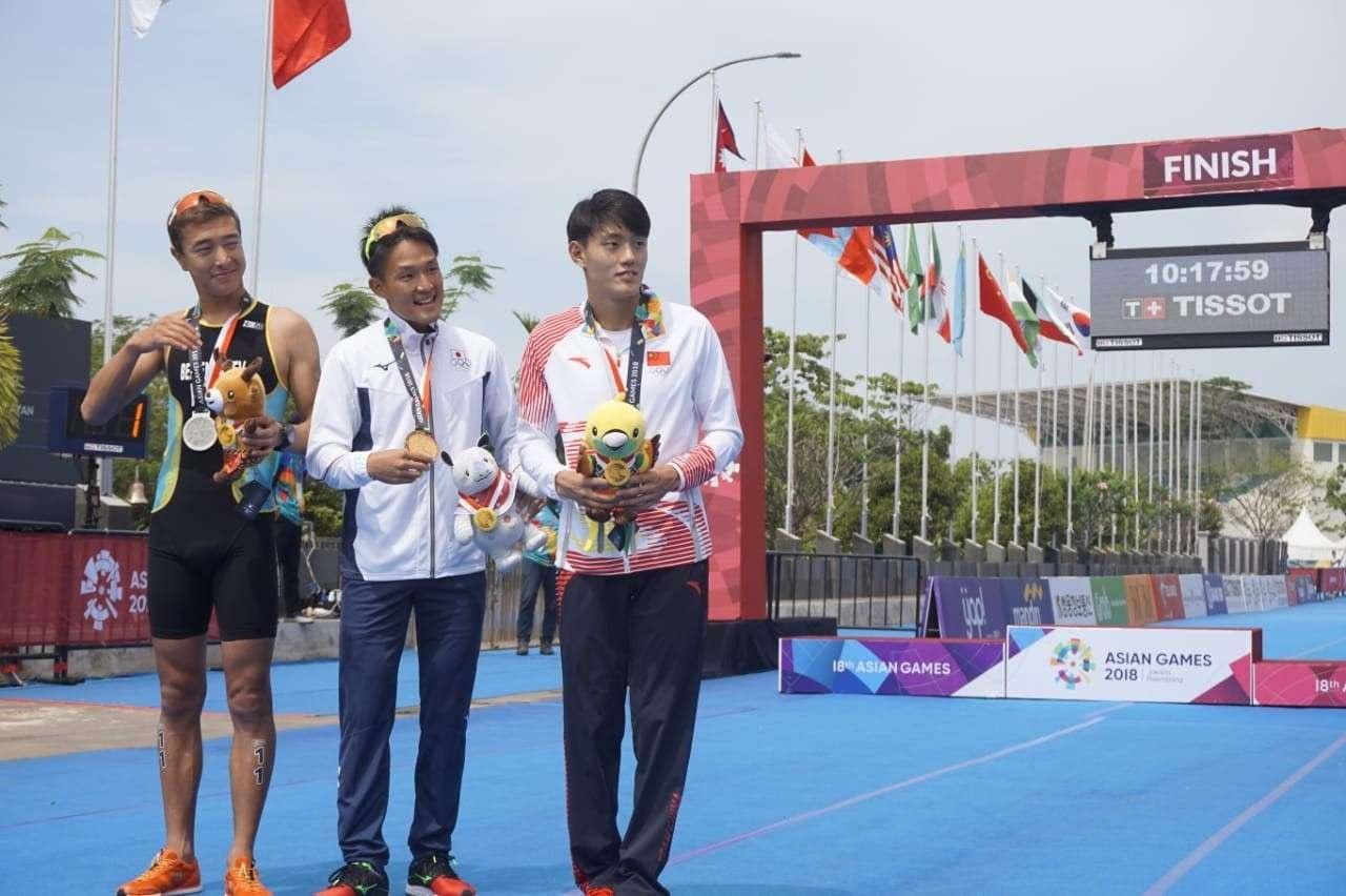 Сильнейшие триатлонисты Азиады