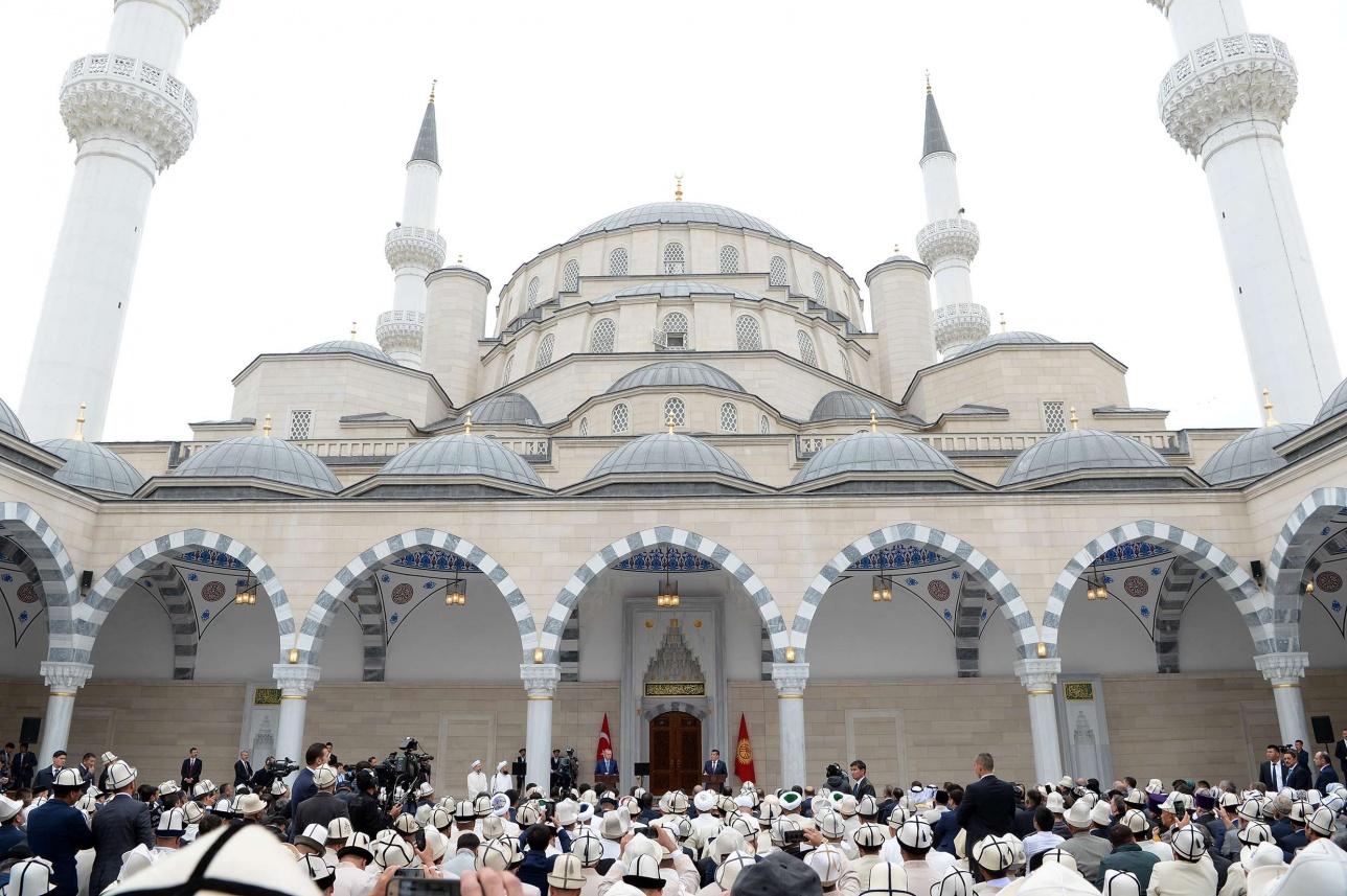 Мечеть построена за счёт турецкой стороны