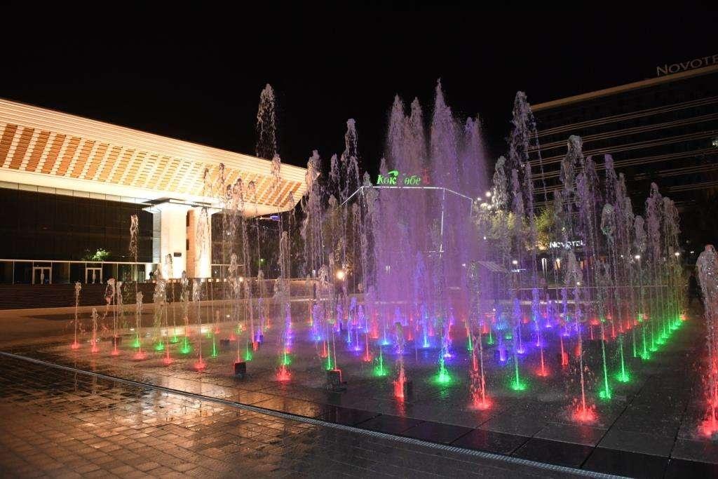 В Алматы реализуются проекты по подсветке исторических и культурных объектов