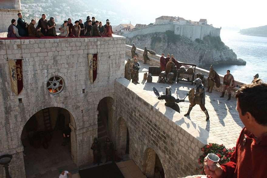 """Столицу семи королевств """"Игры престолов"""" снимали в Хорватии"""