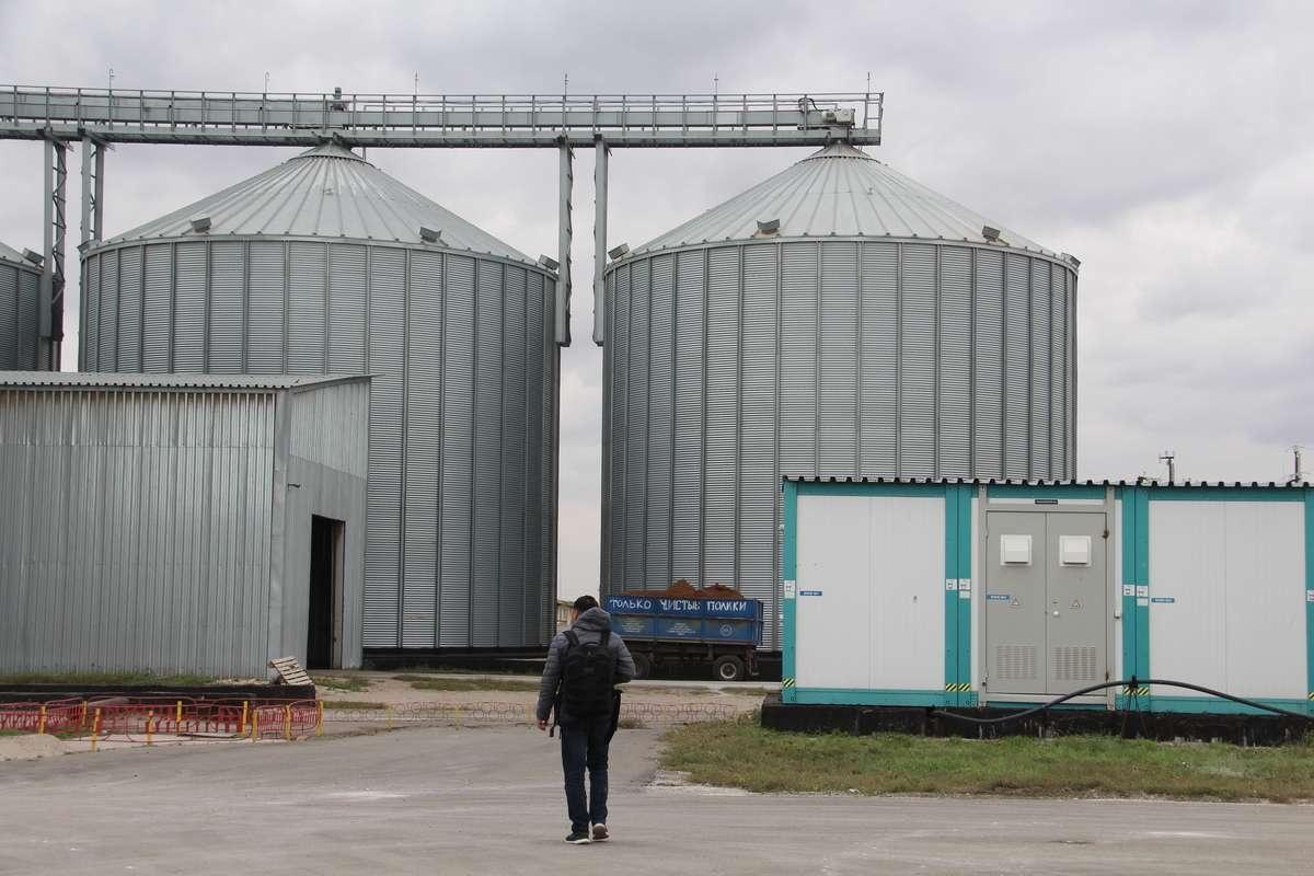 Контейнеры для хранения зерновых культур