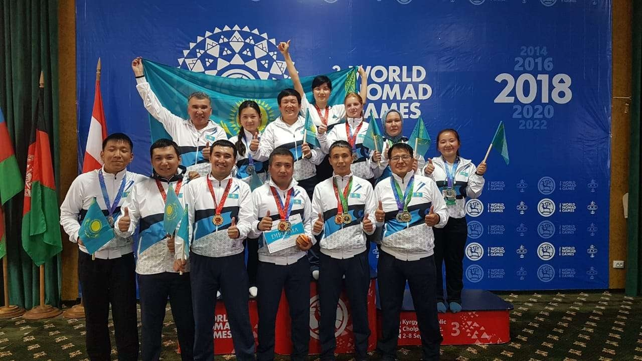 Казахстан занял второе место во Всемирных играх кочевников