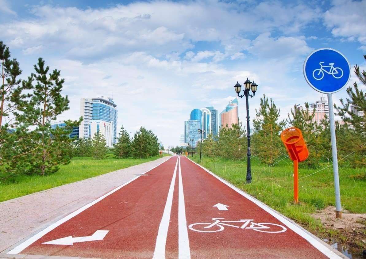 Велодорожными сетями