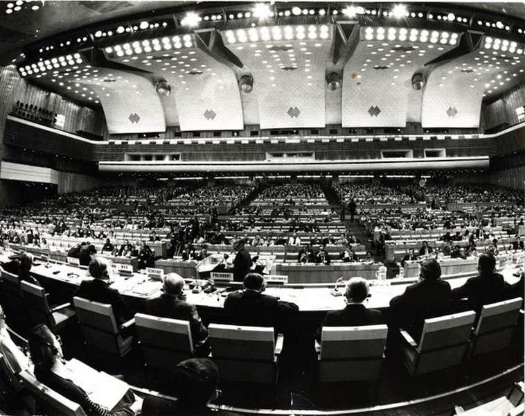 Заседание перед подписанием Алма-Атинской декларации