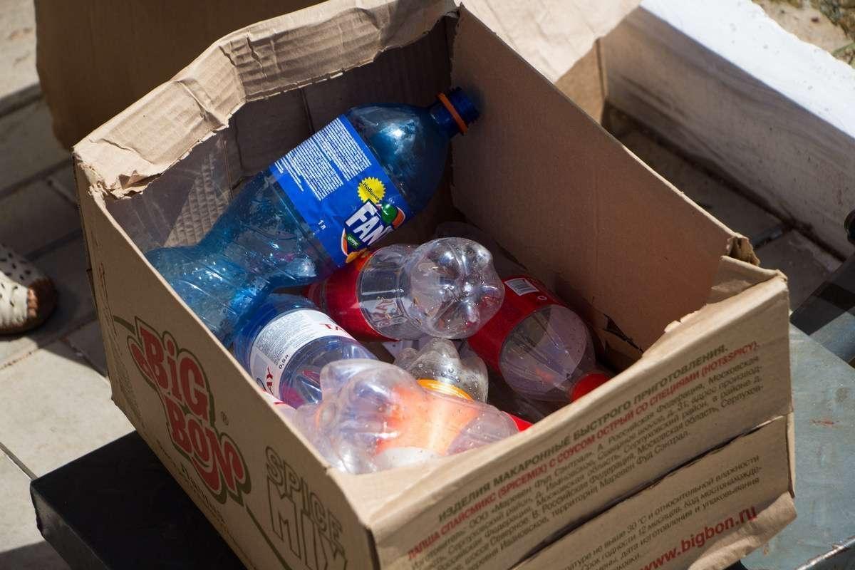 Самое популярное вторсырьё - пластик, бумага, стеклотара