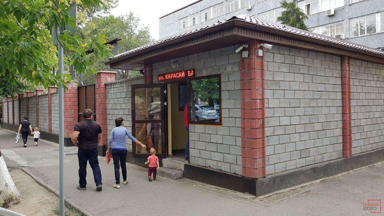 Здание Алмалинского РУВД сейчас
