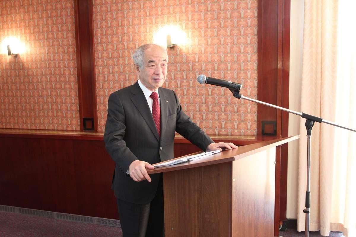 Президент японского общества по сейсмической изоляции Акира Вада