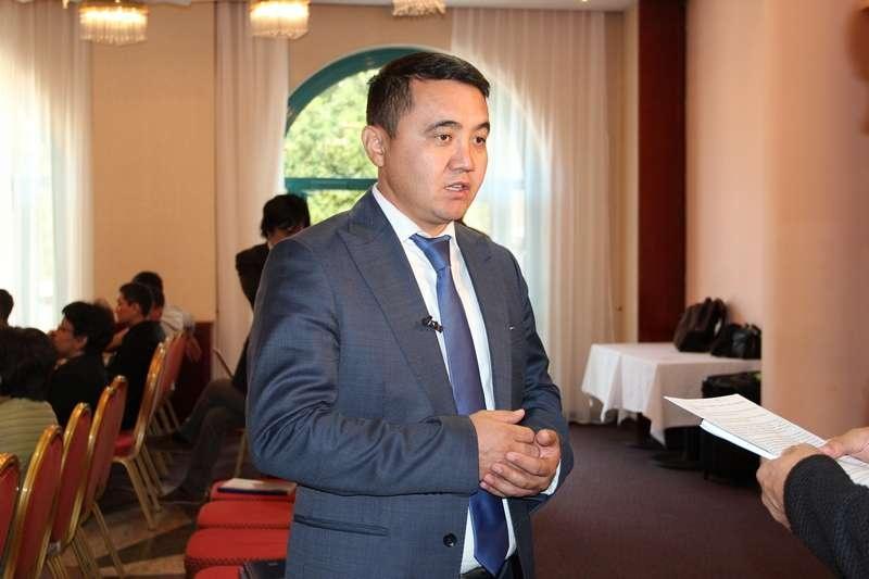"""Управляющий директор по производству """"КазНИИСА"""" Ералы Шокбаров"""