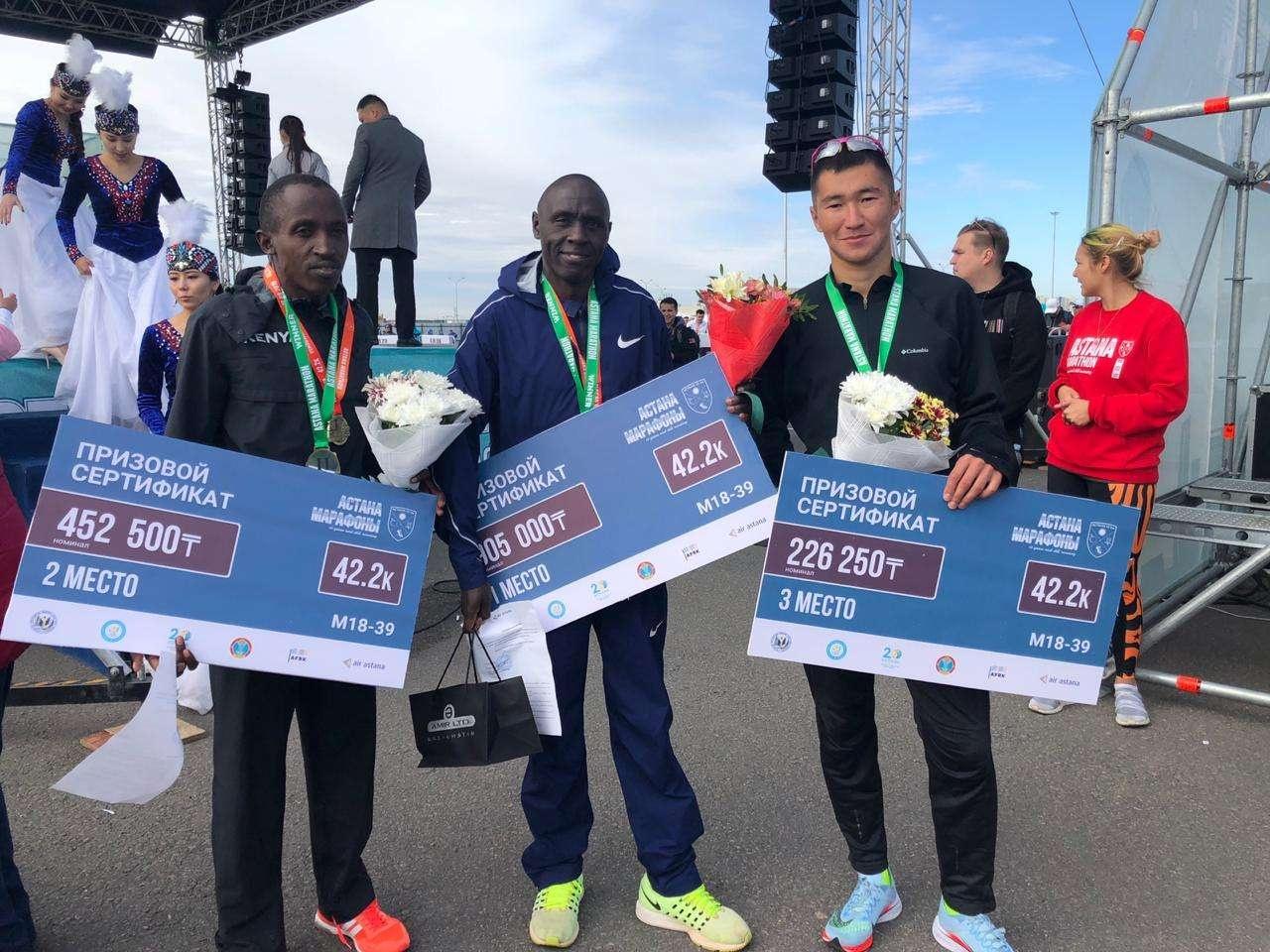 Бегуны из Кении оказались сильнейшими