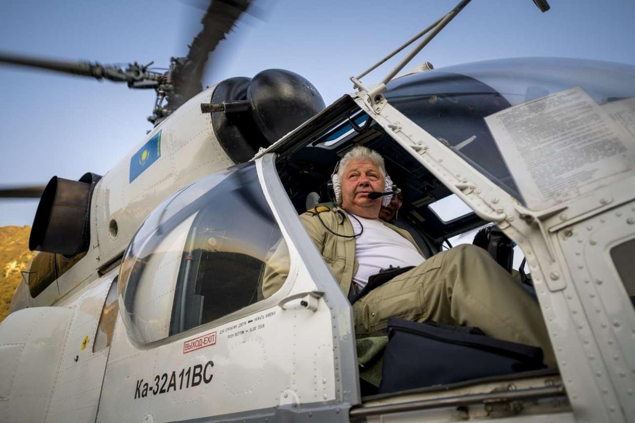 Командир экипажа Сергей Иванович Корольков