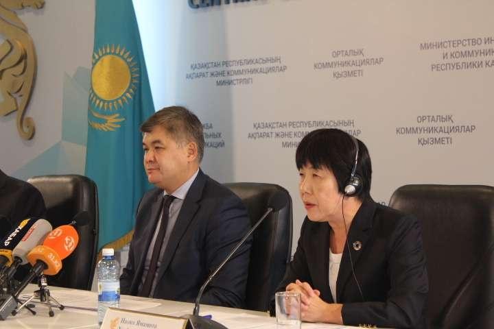 Представитель ВОЗ Наоко Ямамото высоко оценила успехи казахстанских медиков