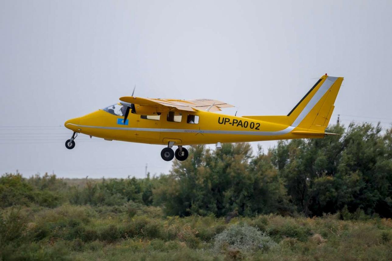 Partenavia P.68 вылетает на патрулирование