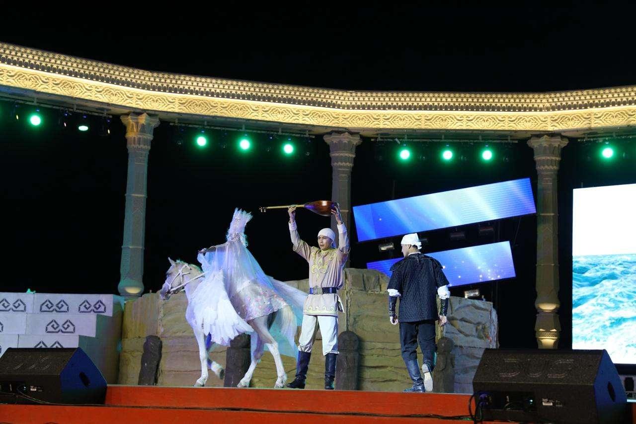 Торжественное открытие Игр прошло в Актау