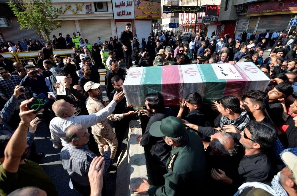 Похороны жертв теракта