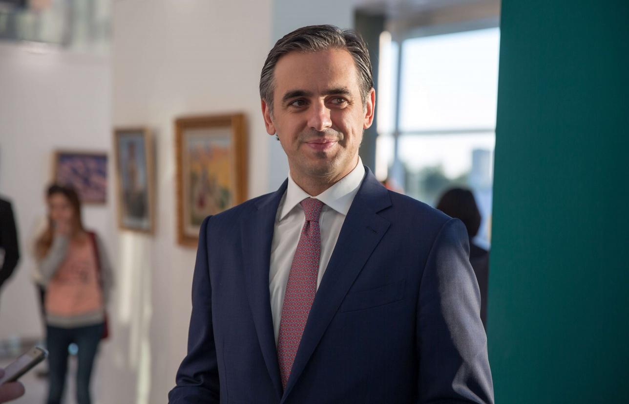 Председатель правления ForteBank Гурама Андроникашвили