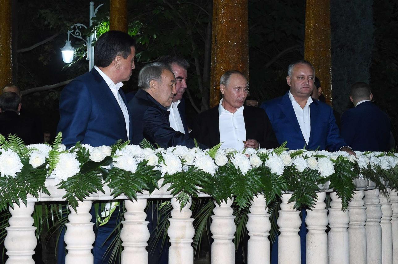 Вечер дружбы глав государств-членов СНГ