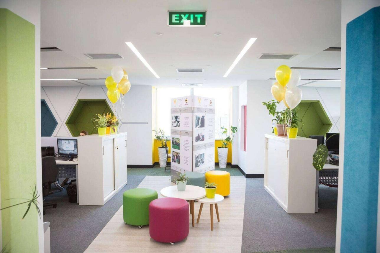 Новый офис Beeline
