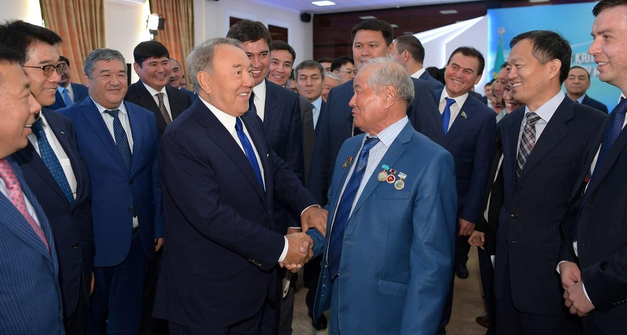 Нурсултан Назарбаев находится с рабочим визитом в Шымкенте