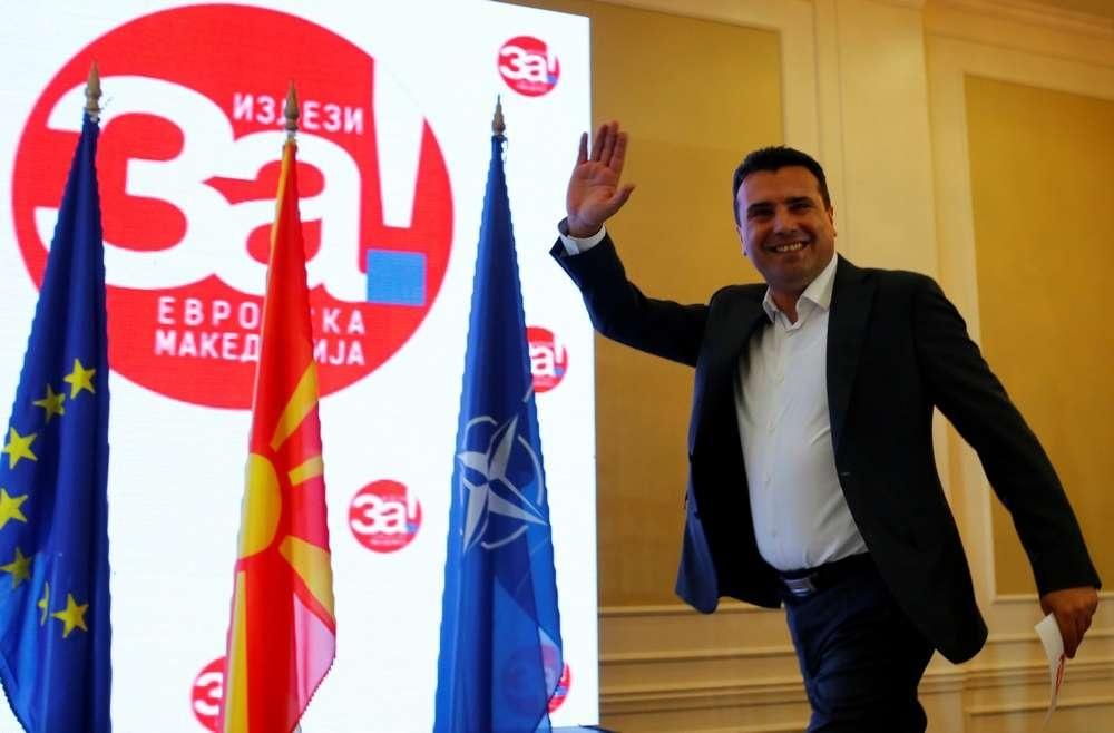 Премьер-министр Зоран Заев считает прошедший референдум успешным