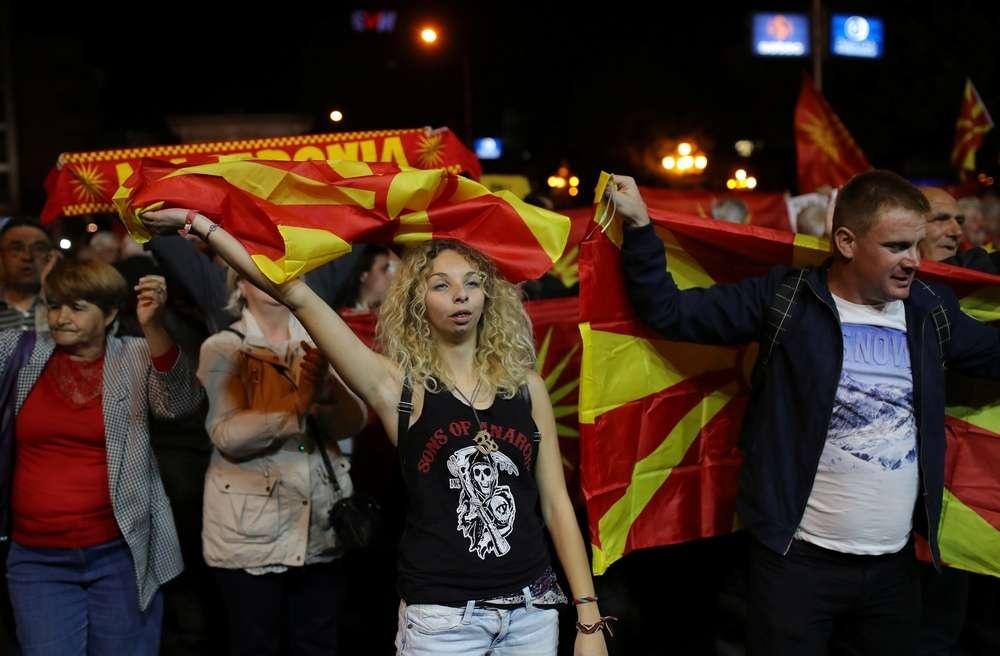 30 сентября в Македонии прошёл референдум о переименовании страны