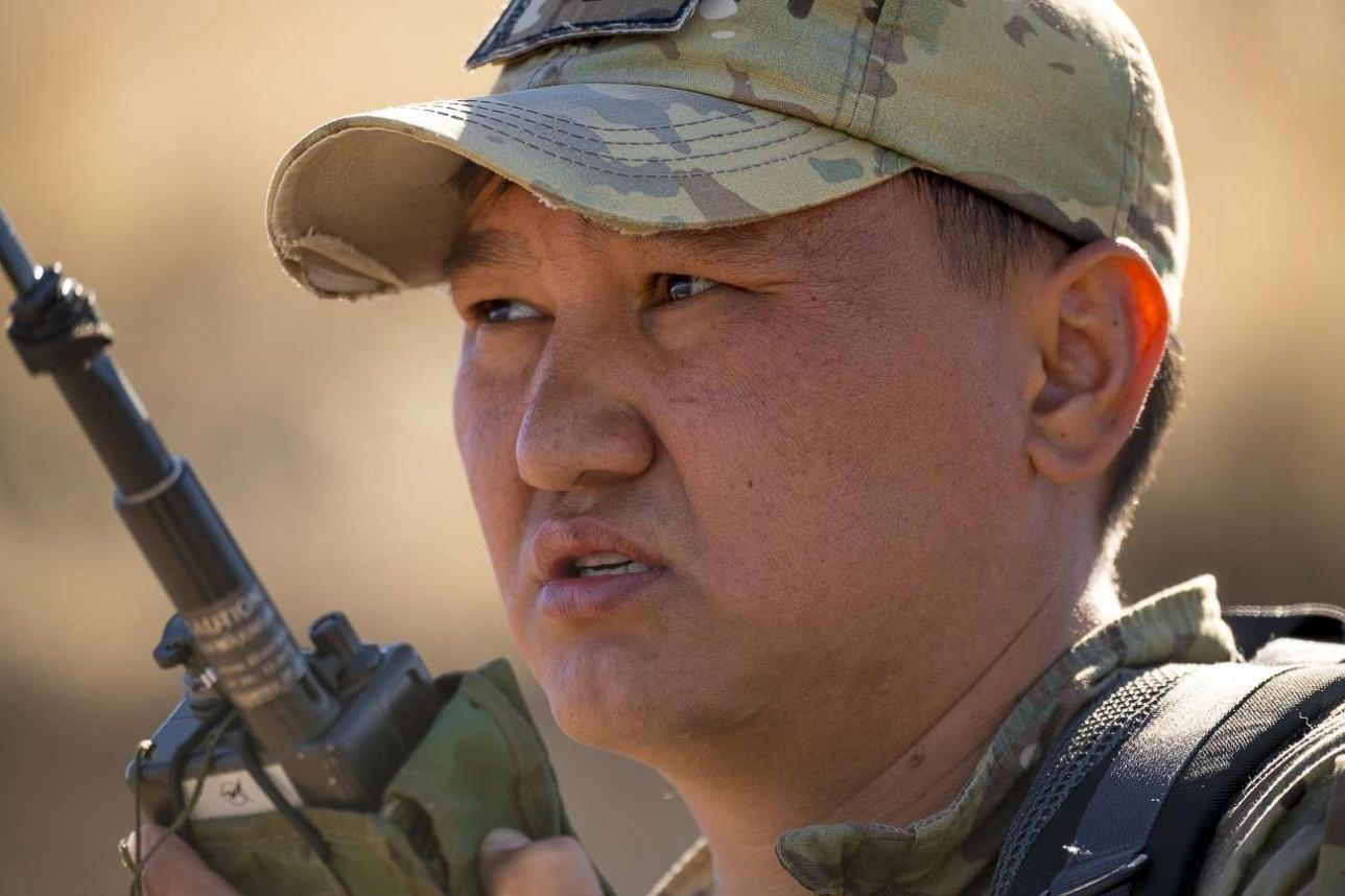 Еркебулан Кузенов, старший офицер в/ч 35950