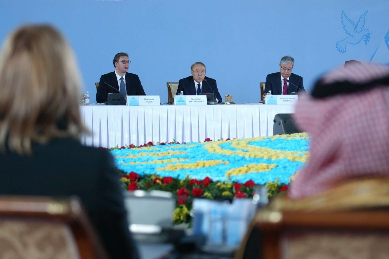 Нурсултан Назарбаев предложил создать на базе этого съезда информационный портал