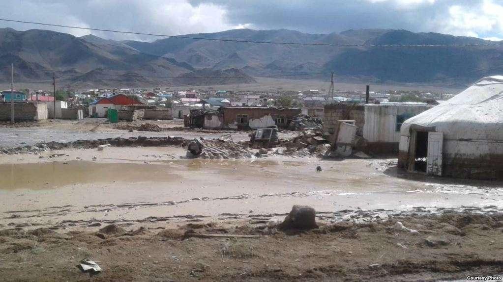 Последствия в Баян-Улгийском округе Монголии