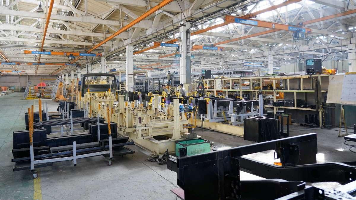 Завод в Семее