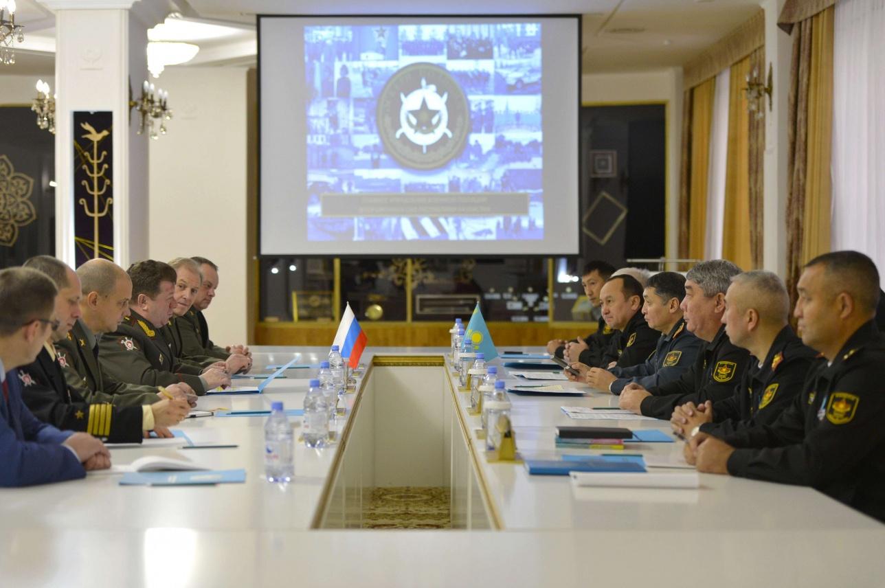 Представители военной полиции РК и РФ обменялись опытом