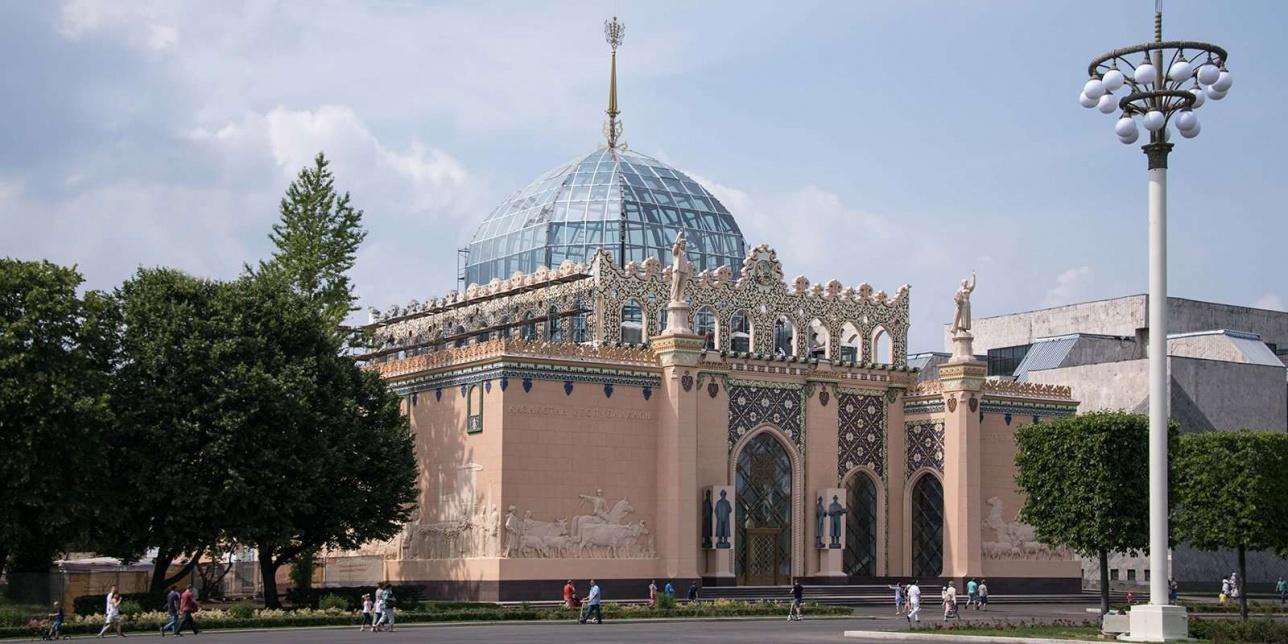 Реконструкция Казахстанского павильона на ВДНХ завершается