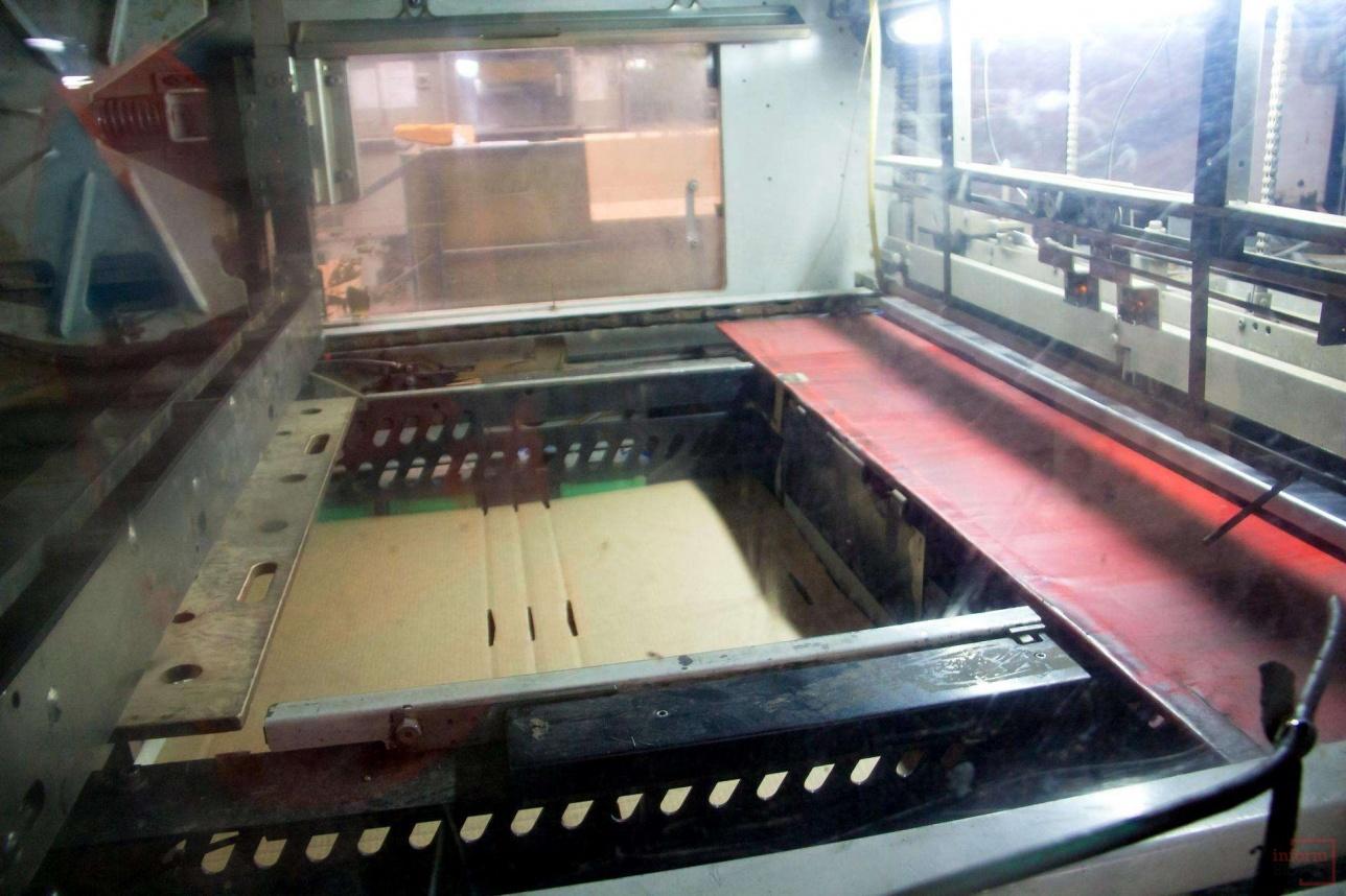 На заводе производять картонную продукцию любой сложности