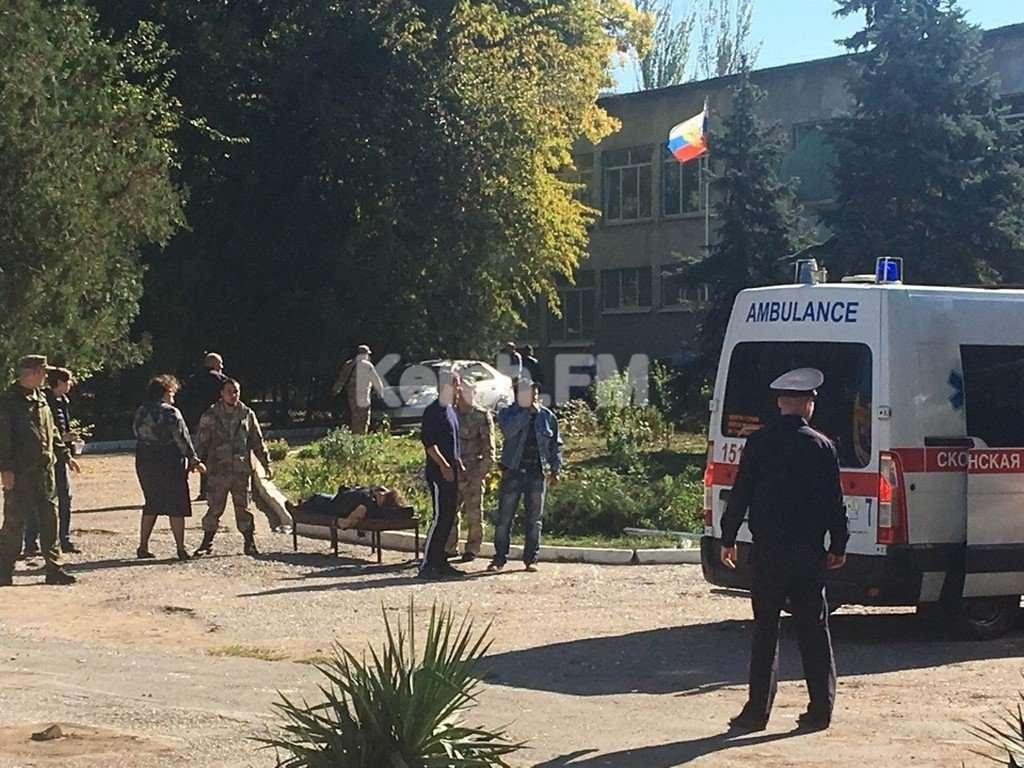 Десять человек погибли во время взрыва в колледже Керчи