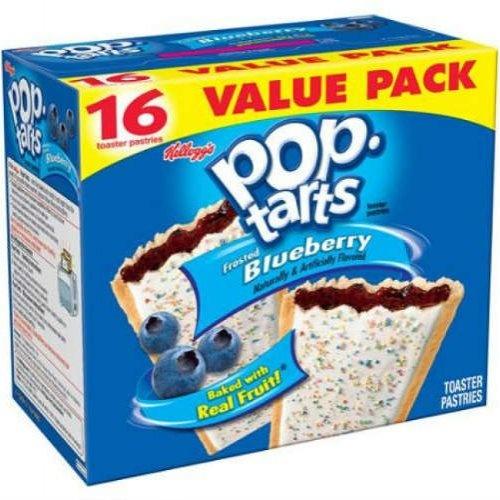 """Печенье """"Pop-Tart"""" - замороженный продукт."""