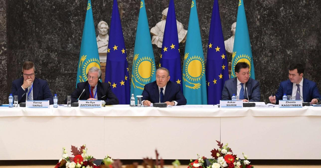 Встреча с представителями европейских деловых кругов
