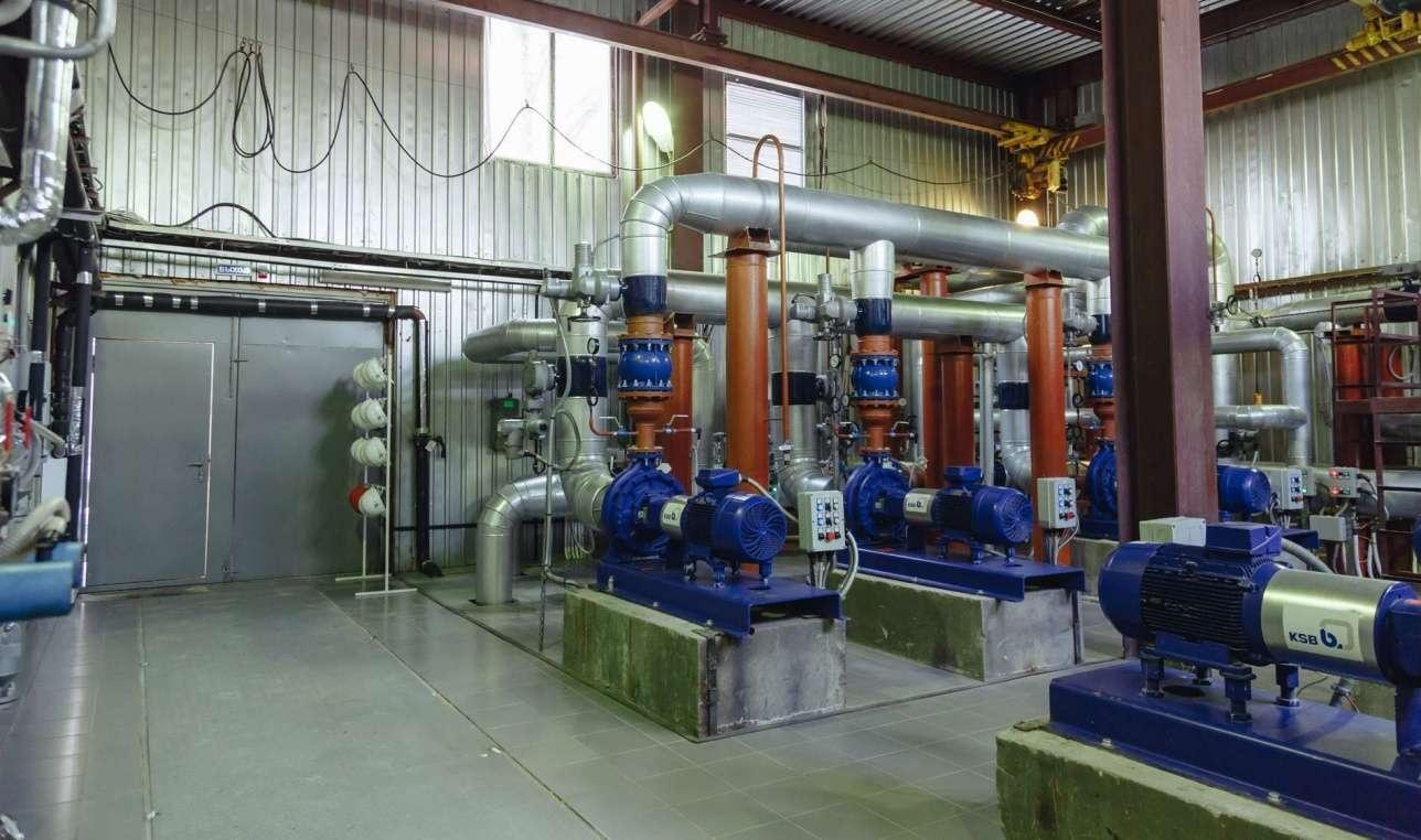 Новую насосную станцию построили на деньги спонсоров тепловики