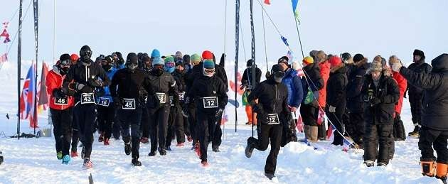 """Экстремальный марафон на северном полюсе """"North Pole"""""""