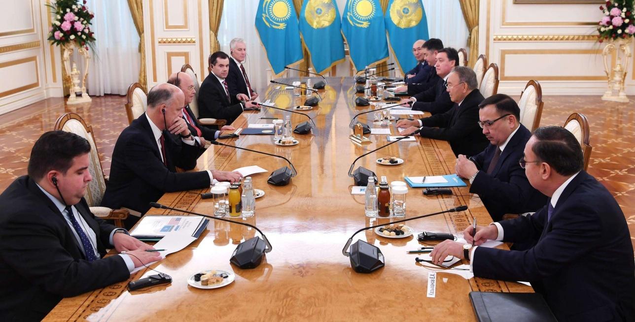 Встреча с министром торговли США Уилбуром Россом