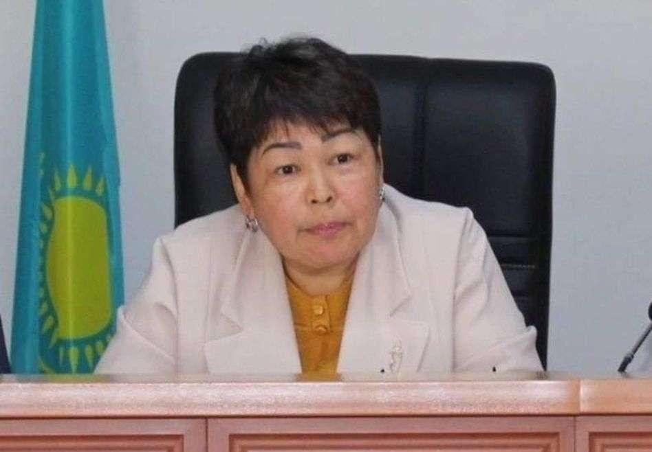 Заместитель акима района Толе би Туркестанской области Рабига Бейсебаева