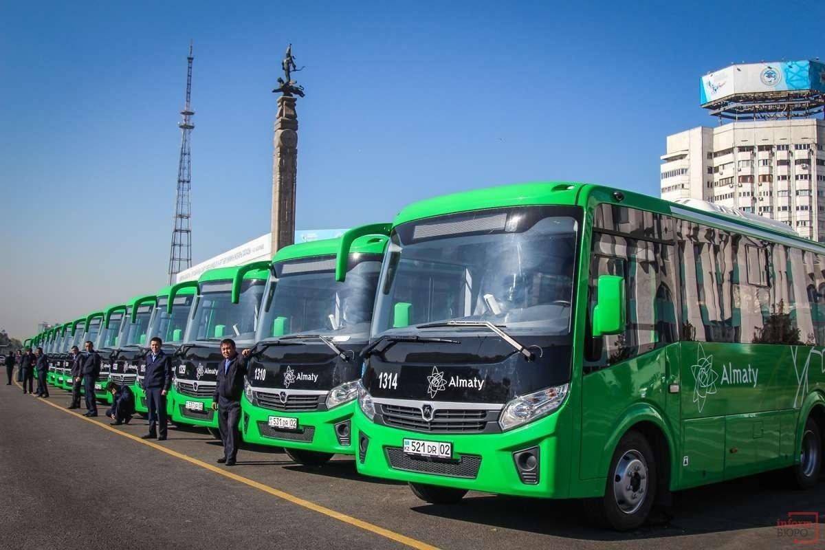 Новые ПАЗ выедут на маршруты Алматы