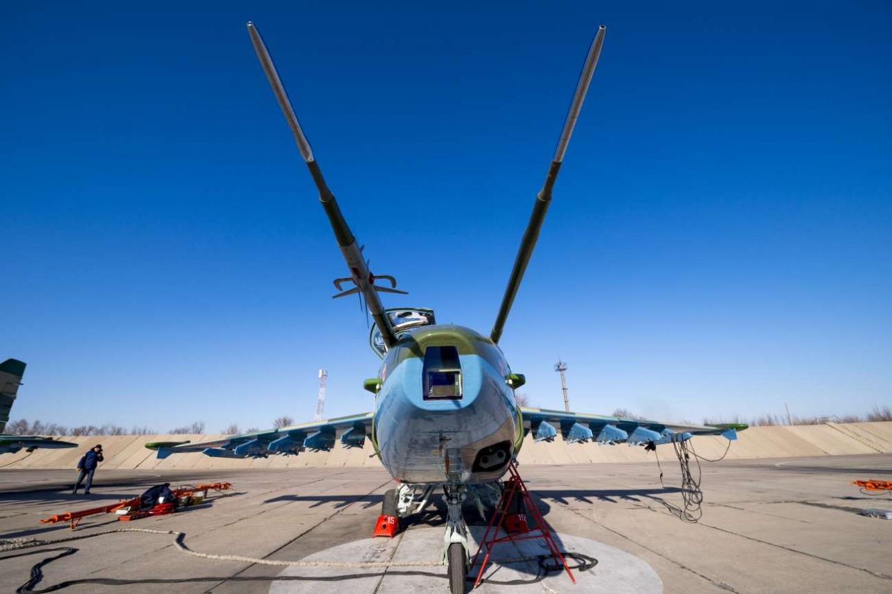 Су-25 на стоянке