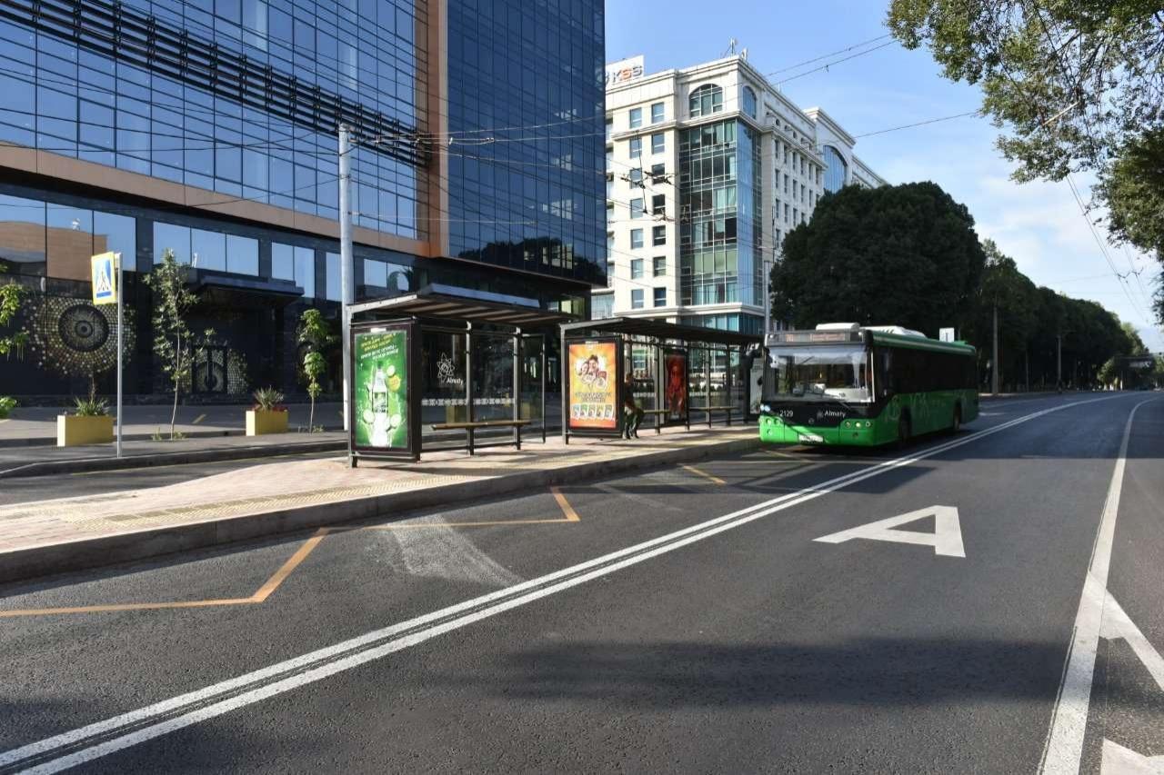 Автобусные остановки в Алматы оснастят цифровыми табло